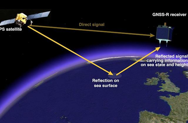 Scientists plot sea levels using GPS satellites