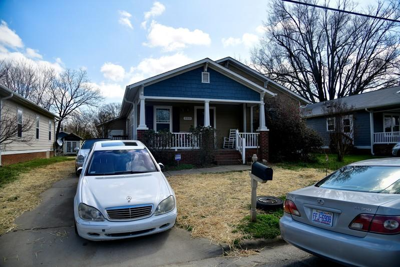 FILE PHOTO: A house on the east side of Pichard St in Greensboro