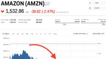 Amazon dips as data privacy concerns hit Facebook (AMZN)