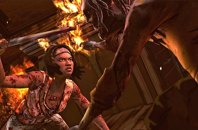 Play the complete 'Walking Dead: Michonne' series in April