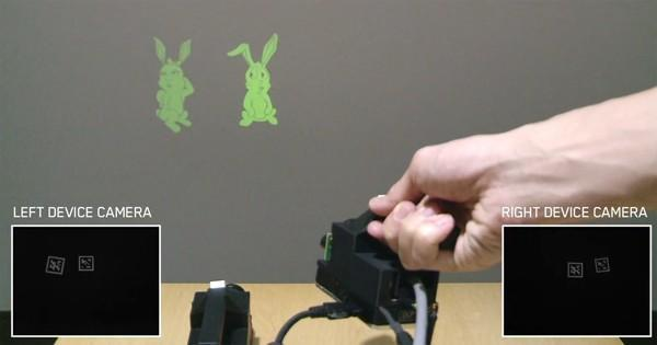 SideBySide makes tiny projectors fun again (video)