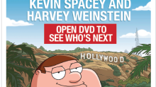 'Family Guy' takes on Harvey Weinstein & Kevin Spacey scandals in Emmy mailer
