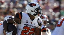 Oregon State WR enters not guilty plea to assault charge on day he's dismissed