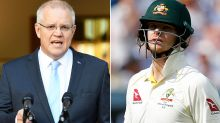 'Ashes foul': Scott Morrison hits out over Steve Smith disgrace