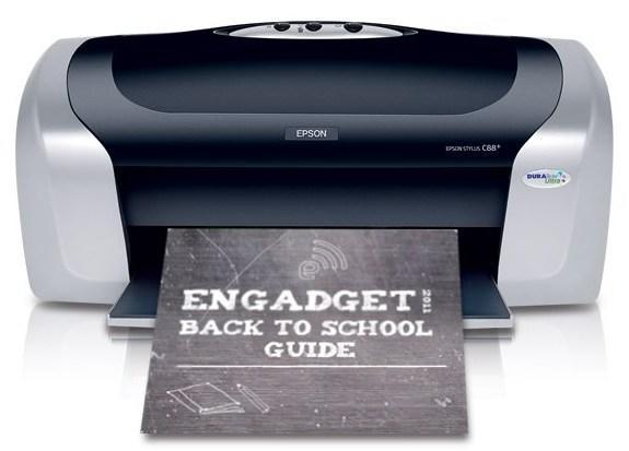 Engadget's back to school guide 2011: printers
