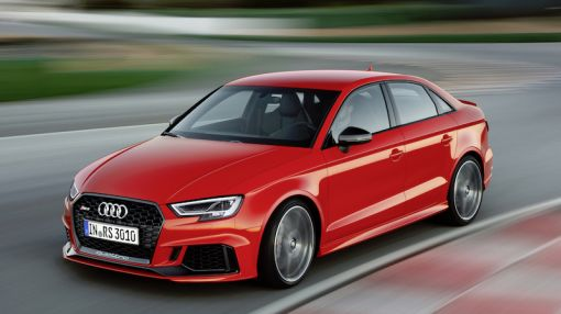 The New 400-Horsepower Audi RS3 Sedan Is Coming to America