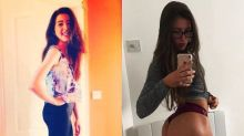 Student busts 'weight loss equals happiness' myth with before-and-after photo