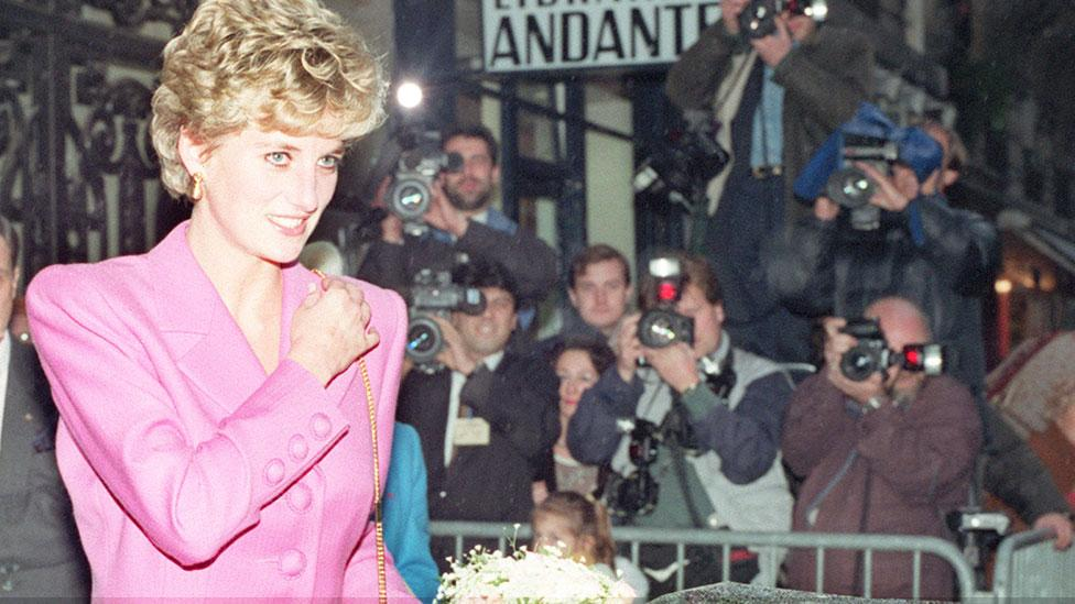 Princess Diana once asked cafe owner to throw out paparazzi