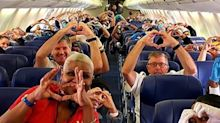 Inspiring photo shows medical workers flying to New York to fight coronavirus