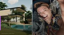 David Brazil constrói mansão em terreno de  7 mil m²