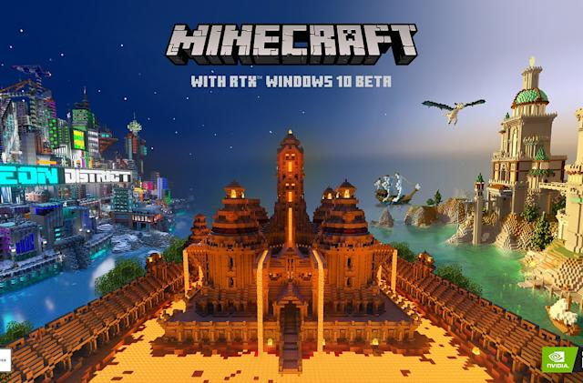 Minecraft's ray-tracing beta arrives on PC this week
