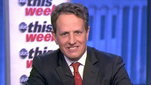 Timothy Geithner Interview