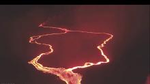 Lava Flows Continue Near Kilauea's Lower East Rift Zone