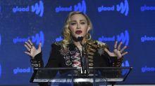 Madonna defends graphic violence in gun massacre music video for 'God Control'