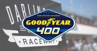 Darlington Raceway rolls with Goodyear for Goodyear 400 on May 9