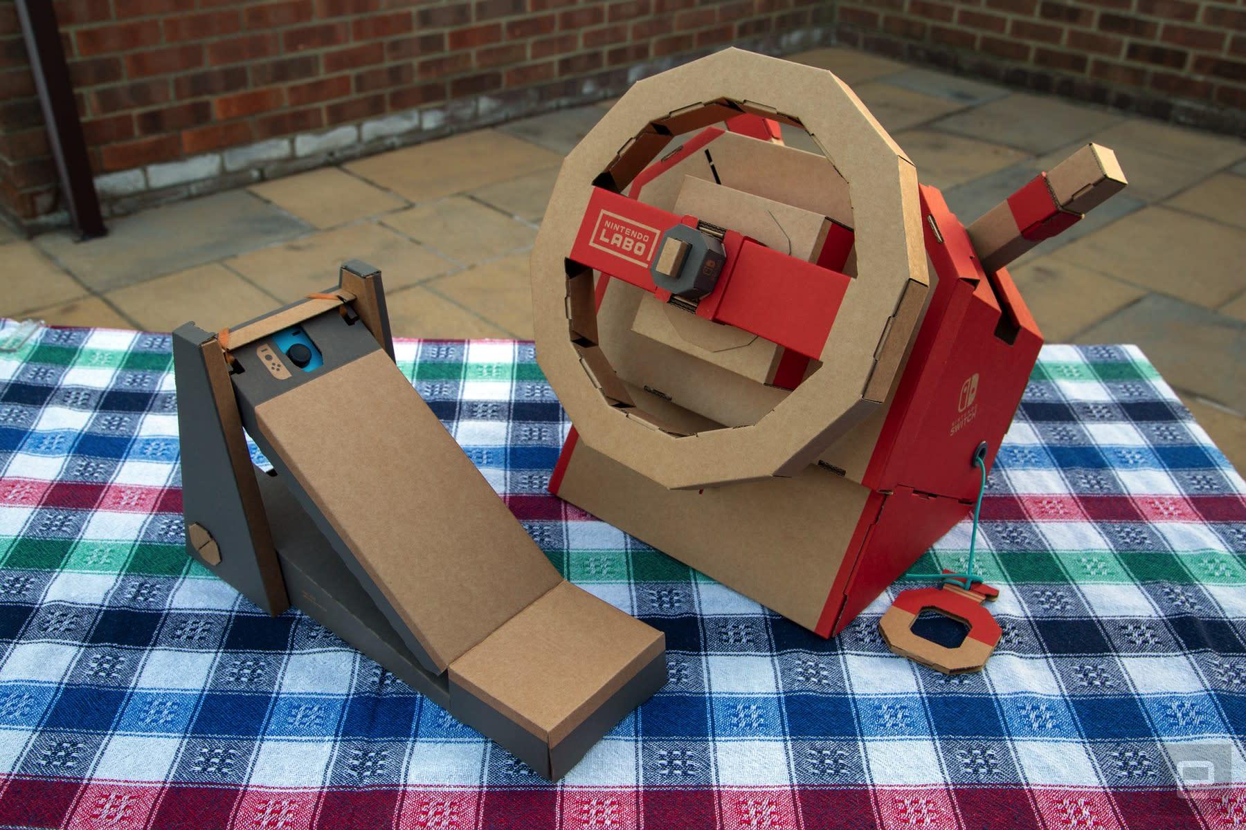 Nintendo Labo Vehicle Kit: Rewarding builds with better games