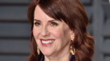 Megan Mullally's Revealing New Album Cover 'Saved a Lot Of Money on Wardrobe'