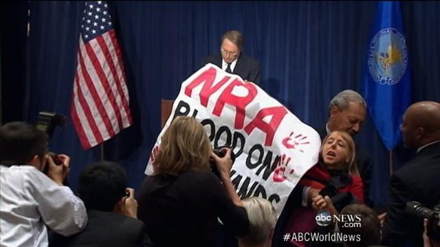 NRA Breaks Silence Following Newtown School Shooting