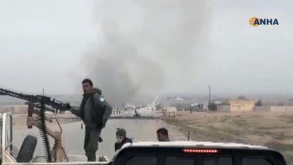 ISIS suicide bomber targets U.S. convoy in Syria