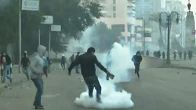 Egyptians, Police Clash Over State of Emergency