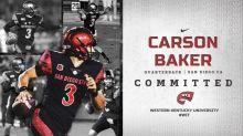 WKU adds quarterback Carson Baker
