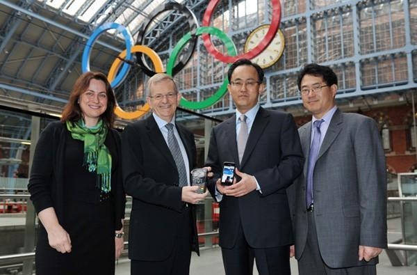 Samsung and Visa join forces to enable NFC mobile payment at 2012 Olympics