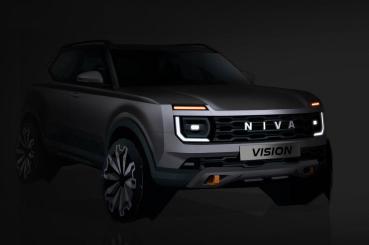 換上更具現代感的面貌,全新世代LADA Niva預計2025問世