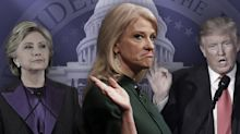 Kellyanne Conway: We're forced to talk about Hillary, whom we never mention