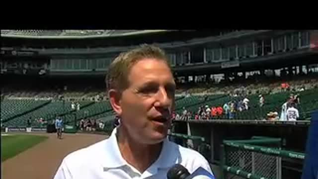 Don Shane Visits Comerica: 6/21/12