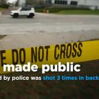 Man killed by police was shot 3 times in back, according to autopsy