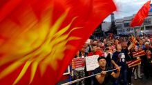 More than 1,000 Macedonians protest country's name change