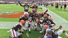 Browns above .500 for first time since 2014