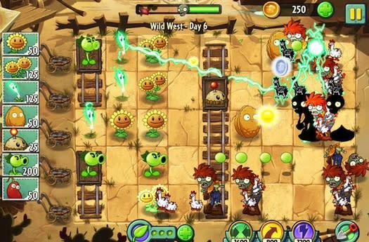 Plants vs. Zombies 2 lines up nearly 25 million downloads