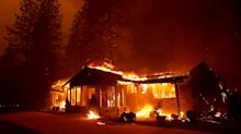 'We're all here together': California couple refuse to let wildfire take away their wedding day