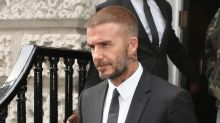 David Beckham shares family pictures from his birthday celebrations