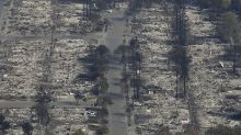 Shocking aerial images show thousands of homes burned to the ground by California wildfires
