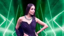 We Can't Get Enough Of Malaika Arora's Glam Look In Sequin Saree Gown, Here's How Much It Costs!