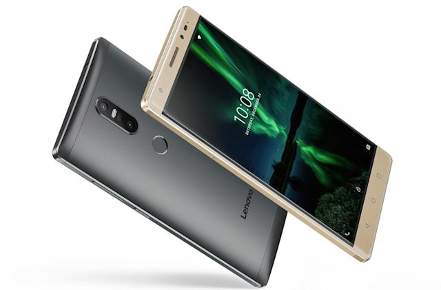 Lenovo's low-cost Phab2 phones are big on augmented reality