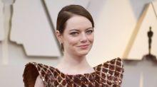 Emma Stone injures shoulder 'slipping on floor' fall ahead of 'Cruella' shoot