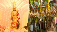 Goddess at Sri Kanyaka Parameswari in Vizag Temple Decorated With Rs 4.5 Crores Worth Jewellery & Rs 2.5 Crore Currency Notes During Navaratri 2018