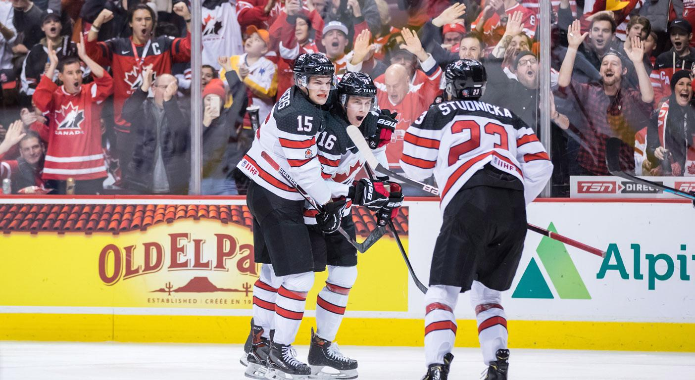 Canada stays perfect at world juniors with win over Swiss