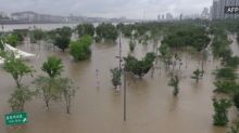 Floodwaters inundate South Korea as country braces for impacts from Hagupit