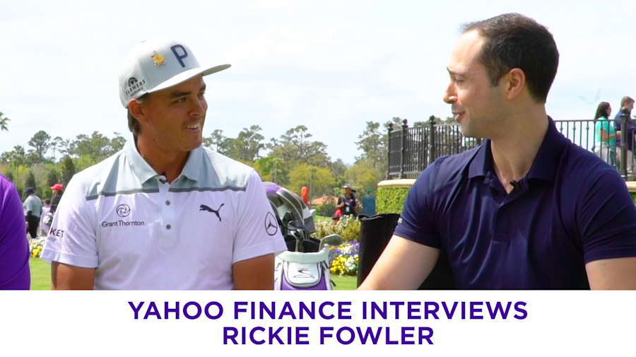 Young golf pro Rickie Fowler: 'You have to be willing to take a hit'
