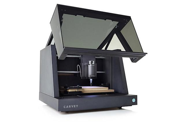 Carvey's desktop carving machine lets anyone be an industrial designer