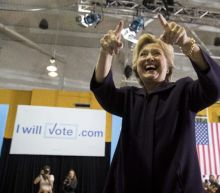 'A lot of things he should apologize for': Clinton basks in post-debate glow at Detroit rally