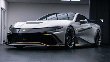 英製新超跑「Naran」帶著 V8 雙渦輪引擎正式殺進超跑市場!