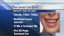 Free dental care offered in Farmington Hills