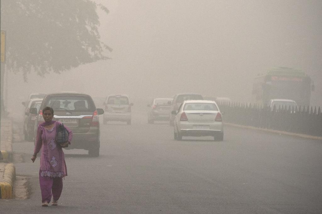 The Indian capital New Delhi is one of many world cities struggling to deal with air pollution