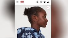 H&M under fire for featuring young model with 'messy' natural hair in new campaign