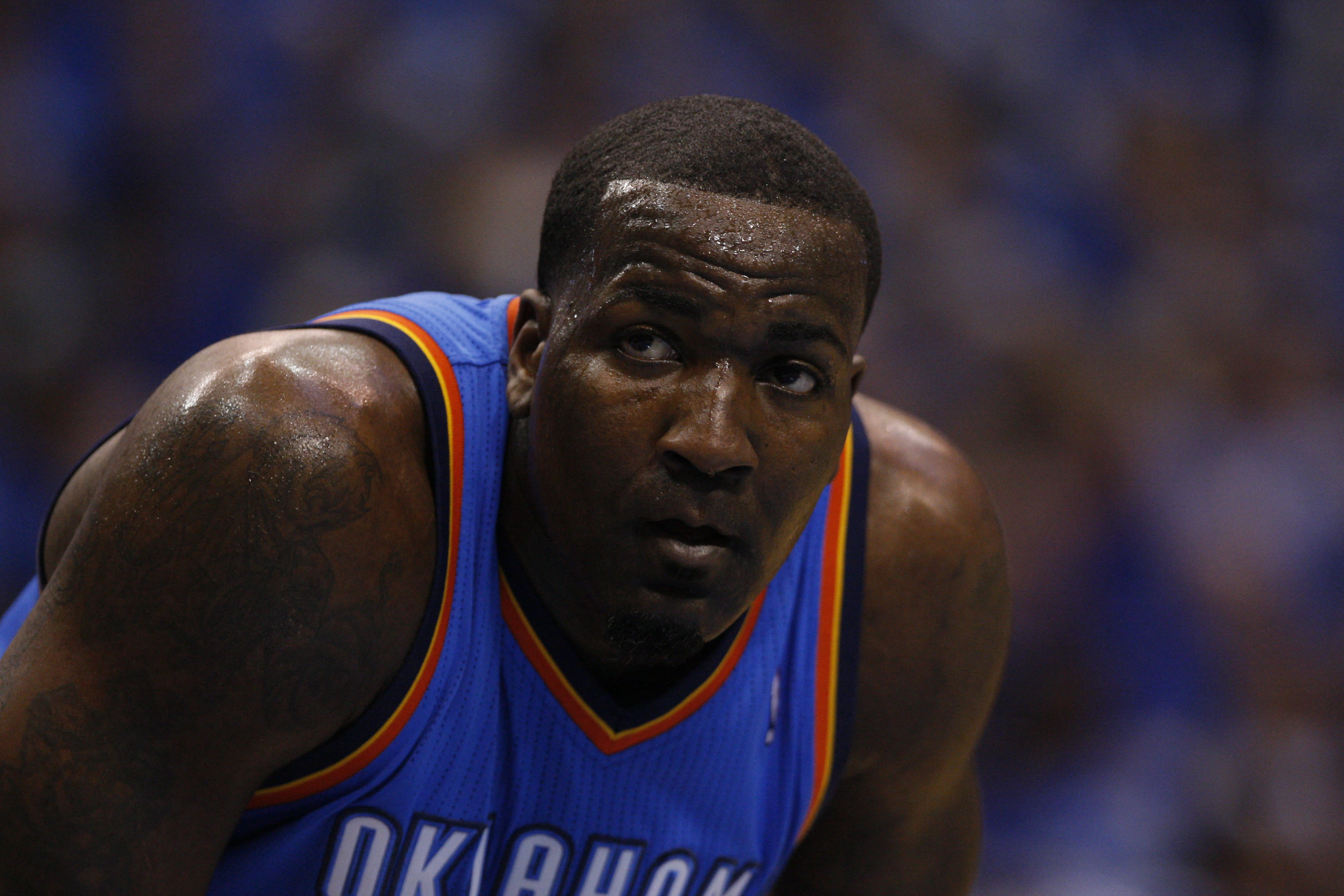 Kendrick Perkins: Trading me was 'actually a smart move' by Danny Ainge